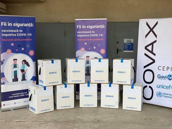 Alte 50.310 doze de vaccin Pfizer-BioNTech au fost livrate gratuit Republicii Moldova prin intermediul platformei COVAX