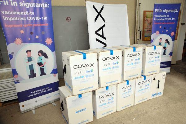 Republica Moldova a recepționat 50.310 doze de vaccin Pfizer-BioNTech prin intermediul platformei COVAX