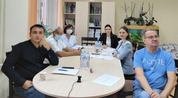Ședința Grupului de lucru pentru elaborarea Regulamentului Sanitar privind aprobarea limitei maximal admisibile a concentrației de plumb în vopsele