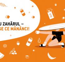 """Este lansată campania socială """"Redu zahărul – alege ce mănânci!"""""""