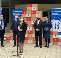 Republica Moldova a recepționat 70.000 de doze de vaccin Sinovac din partea Turciei