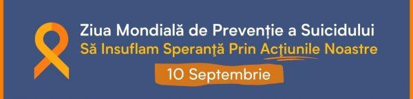 Ziua Mondială de prevenire a suicidului