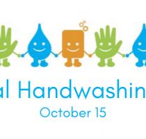 15 octombrie 2021 – Ziua Internațională a spălatului pe mâini